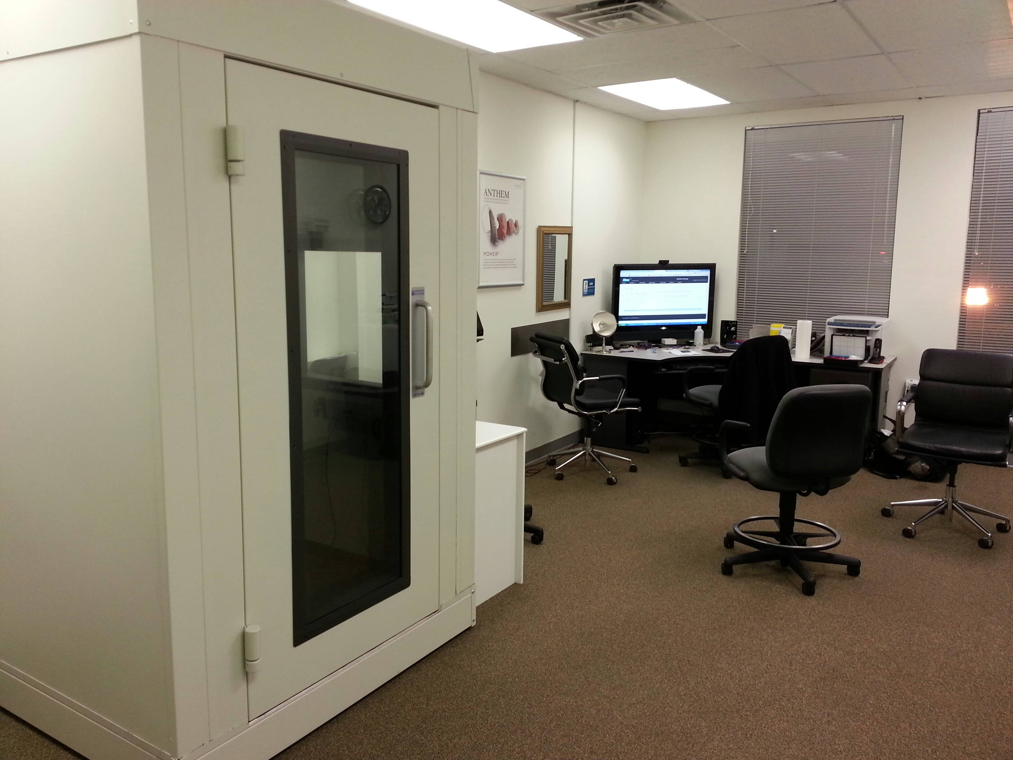 Allentown Gets Sound Proof Booth